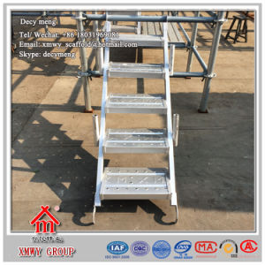 Q235 Scaffolding Ladder Hot DIP Galvanized Surface pictures & photos