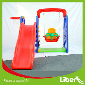 Indoor Plastic Slide and Swing pictures & photos