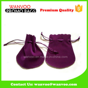 Fashion Mini Purple Jewelry Bag with Velvet pictures & photos