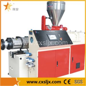Conical Twin Screw Extruder for PVC Powder pictures & photos