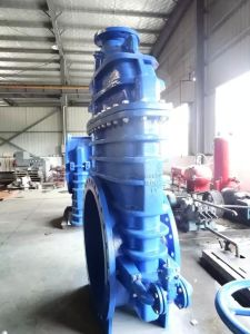 Resilient Gate Valve, DIN3352 F4 F5, with by Pass Valve pictures & photos