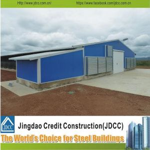 Design Prefabricated Light Steel Poultry House pictures & photos