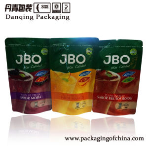 Stand up Juice Packaging, Plastic Packaging with Zipper pictures & photos