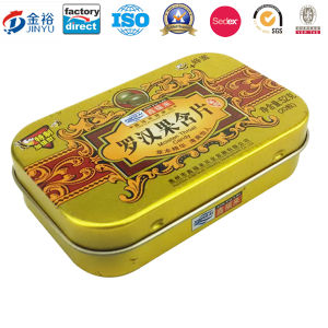 Factory Directly Pill Metal Tin Case for Pill Medicine pictures & photos
