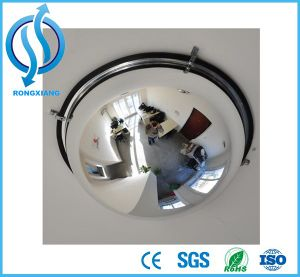 Acrylic Material Safety Quarter Dome Convex Mirror with Super Quality pictures & photos