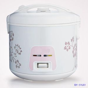 5litre Rice Cooker with Detachable Inner Lid Sy-5yj01
