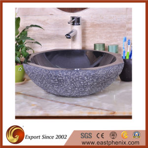 Natural Beige Stone Sink for Bathroom /Kitchen pictures & photos