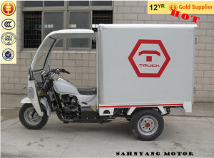 150cc 200cc 250cc 300cc Enclosed Tricycle with Cabin Cooling Box Three Wheel Motorcycle Cabin Motorcycle pictures & photos