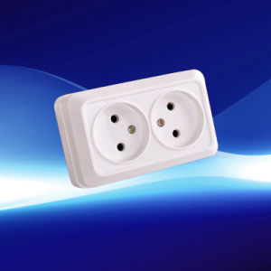 Surface European Wall Socket  (YW1811) pictures & photos