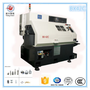 China Shangha Diameter 42mm Mazak Swiss Type Metal CNC Lathe with Milling Machine Combo pictures & photos