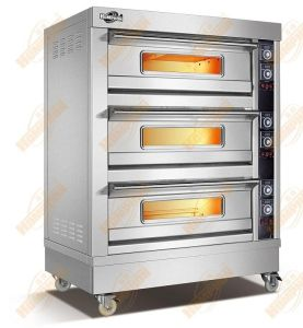 3deck 6 Tray Gas Oven pictures & photos