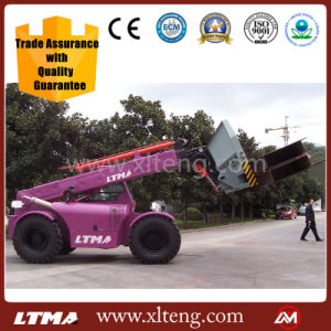 Ltma 5t Telescopic Boom Forklift Truck pictures & photos