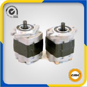 Bi-Direction Rotary Forklift Cast Iron Hydraulic Gear Oil Pump pictures & photos