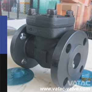 A105n Class800lbs Forged Swing Check Valve with Flange pictures & photos