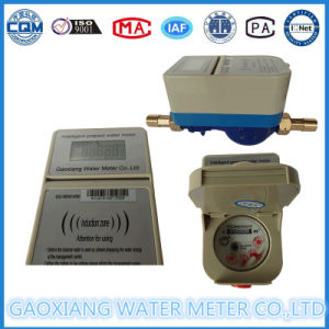 Brass or Plastic Prepaid Water Meter with Impulse pictures & photos