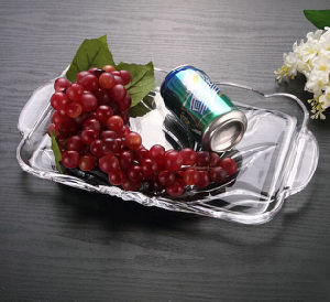 Hot Selling Reasonable Price Crystal Glass Fruit Bowl pictures & photos