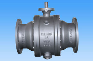Wcb Flanged Ball Valve with High Pad