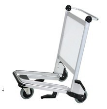 High Qulaity Luggage Trolley Cart with Advertisement Board pictures & photos