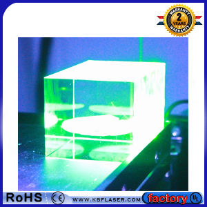 3D Inner Crystal Green Laser Marking Engraver Machine for Hot Sale pictures & photos