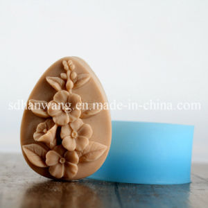 R1705 Handmade Silicone Mould for Soap Hot Sale Flower Silicone Molds
