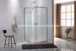 Simple Shower Enclosure with Line Glass pictures & photos