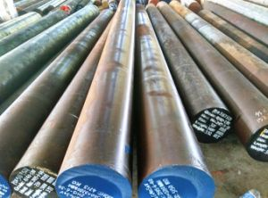 Round Steel Bar [W1.7225+Q/T] Tool Steel Round Bars Foged Steels pictures & photos