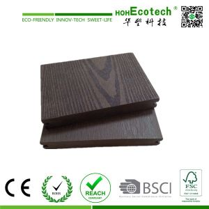 DIY Outdoor WPC Deck Tile, WPC Decking Swimming Pool (146*21mm) pictures & photos