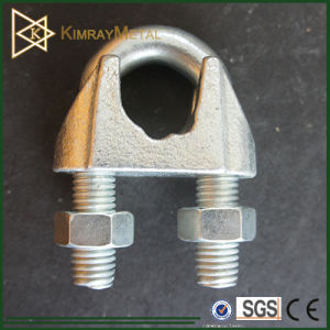 Galvanized Malleable Wire Rope Clips DIN741 pictures & photos