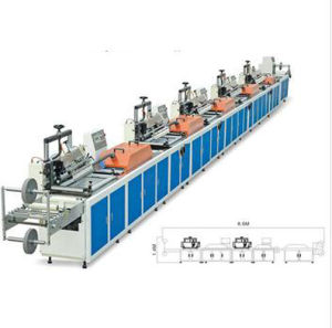 Fully Automatic Five-Colour Silk Screen Trademark Printing Machines Zx-3005 Type pictures & photos