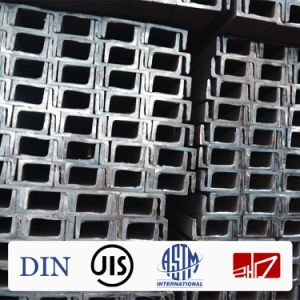 Channel Steel/U Channel/Steel Beam/Q345/Q235/Ss400 pictures & photos
