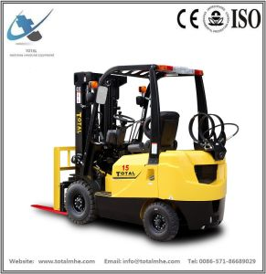1.5 Ton Gasoline and LPG Forklift Truck with Japanese Engine Nissan K21 pictures & photos