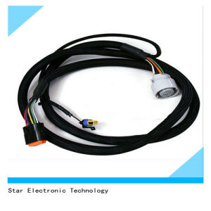 Factory Price Electrical Transmission Wire Harness Adapter for Data Communication pictures & photos