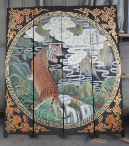 Antique Furniture Chinese Wood Screen pictures & photos