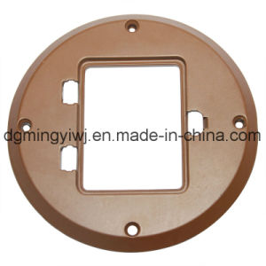 High Quality Aluminum Die Casting Parts with Silver Appearance Made in Mingyi Factory