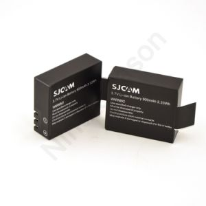 3.7V Li-on 900mAh Backup Rechargeable Battery pictures & photos