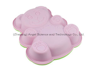 Baby Bear Silicone Baking Tool Silicone Baking Tray Sc09 pictures & photos