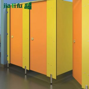 Jialifu environmental Friendly HPL Panel Toilet Partition pictures & photos