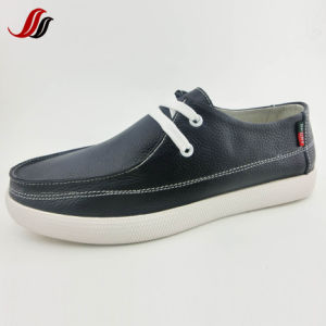 High Quality Men′s Dress Shoes Casual Leather Shoes (LZ1) pictures & photos