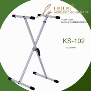 Knock-Down Single X Keyboard Stand (KS-102) pictures & photos
