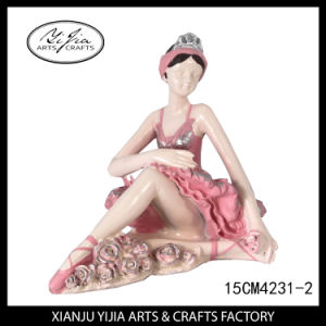 Decoration Resin Crafts Lovely Ballet Girls for Gifts pictures & photos