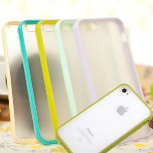 New Fancy Colorful Silicone Protective Soft Case Cover for iPhone 4/4s 5/5s