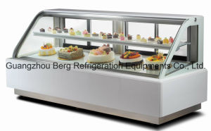 European Style Cake Refrigerator Showcase with Electric Heater pictures & photos
