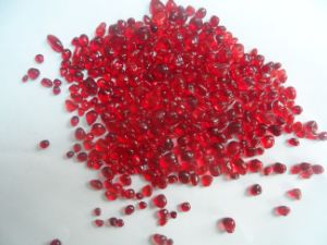 3-6mm Color Glass Beads-Red
