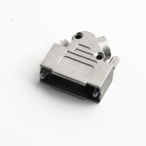 D-SUB 15pin Connector Zinc Hood / Shell /Cover Assemblied pictures & photos