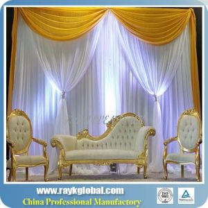 Easy Install Pipe Drape Show Booth Display pictures & photos