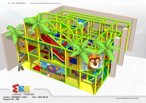 Jungle Themed Indoor Playground with Ce Certificate