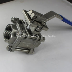 Stainless Steel ISO5211 Mount Pad 3PC Ball Valve pictures & photos