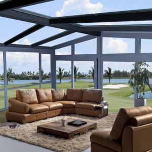 High Quality Garden Green House/Glass Green House/ Conservatory/Sun Room/Gazebo pictures & photos