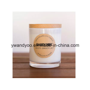 Fruit Scented Soy Glass Jar Candles with Lid pictures & photos