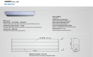 High Quality Elevator Well Lamp (SFT-JDD-T5-15) pictures & photos